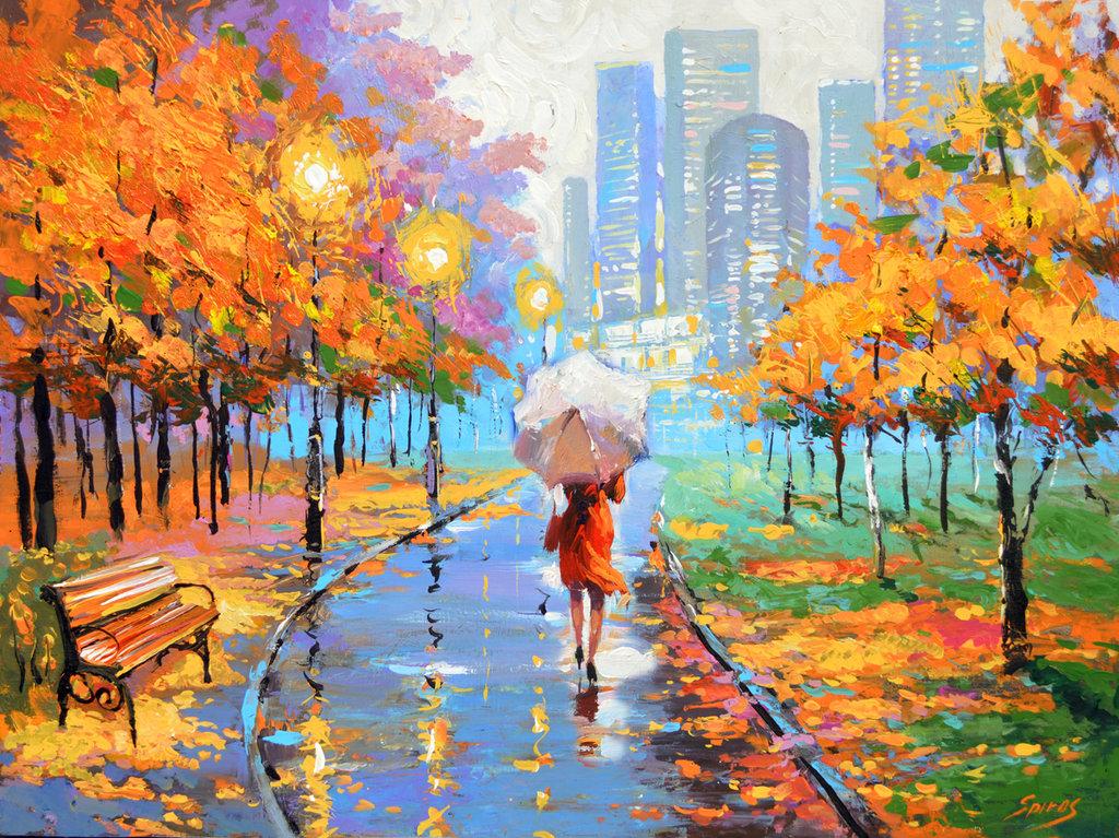 дизайн картинки красивые на тему осень в городе садовый волна особенности