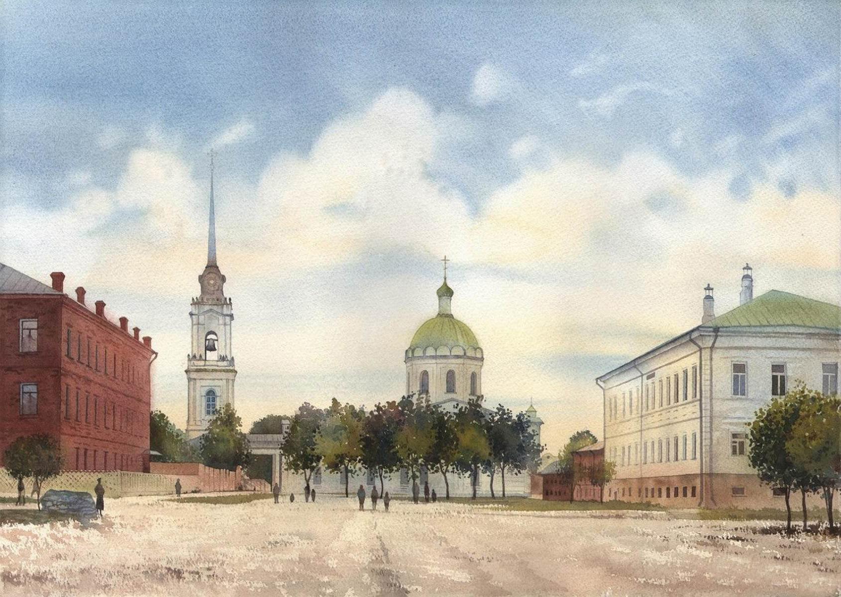 Открытки города тулы, открытка новым
