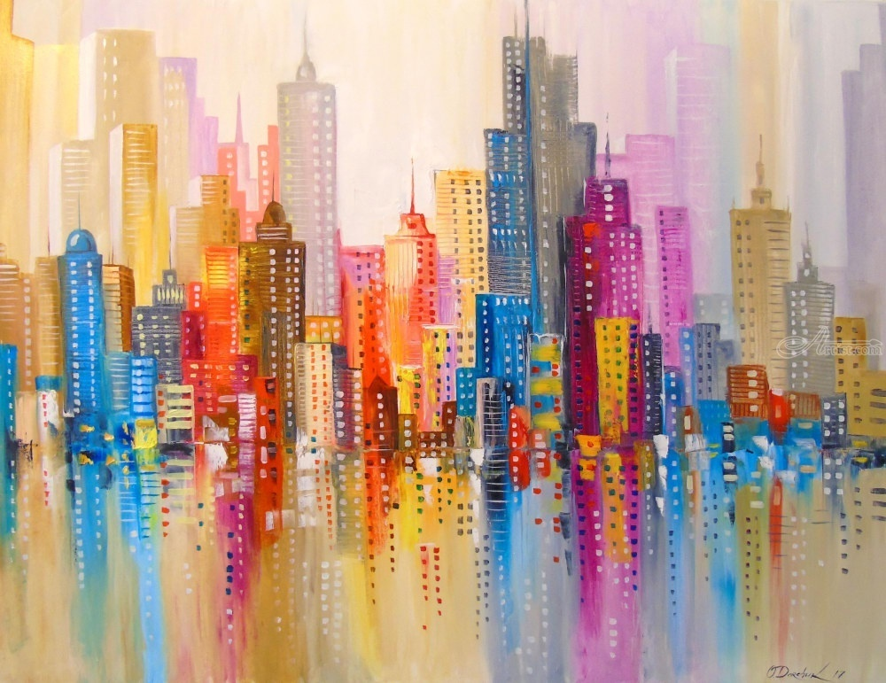 абстрактный город в картинках рисковать