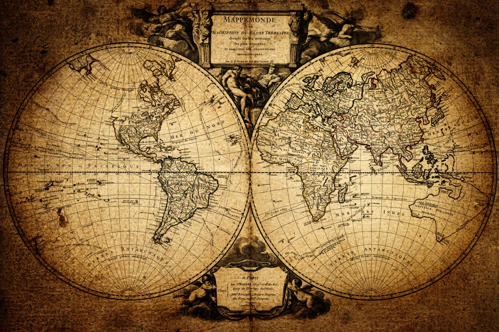 тернер картинка винтажная карта зданий