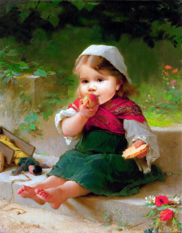 Набор открыток образы детей